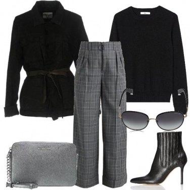 Outfit I pantaloni a quadretti