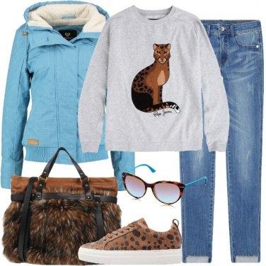 Outfit Lo sguardo del ghepardo