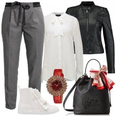 Outfit Uno stile con i fiocchi