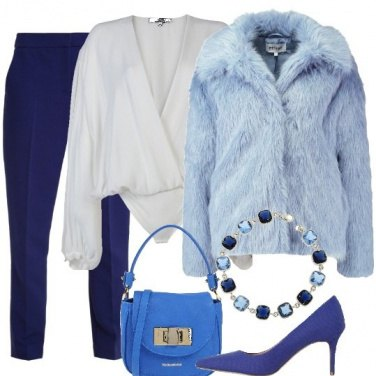 Outfit Affascinante blu