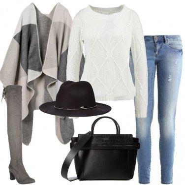 Outfit Maglione avorio