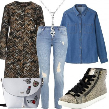 Outfit Molto denim