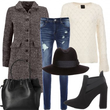 Outfit Il cappello in lana