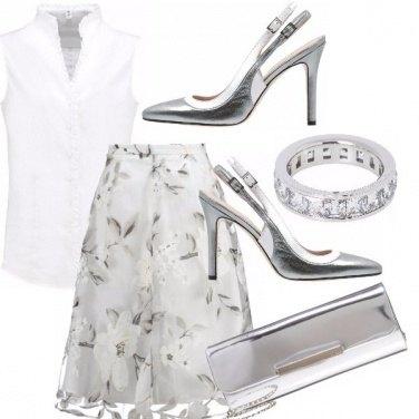 Outfit Per chi ama il bianco e l\'argento
