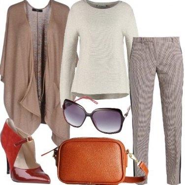 Outfit Pantalone a gamba stretta