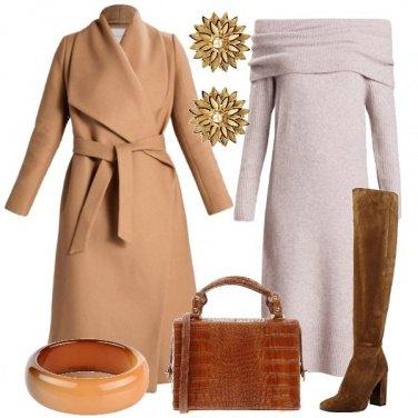 Outfit Gradazioni di beige e marrone