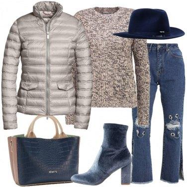 Outfit Piumino e cappello