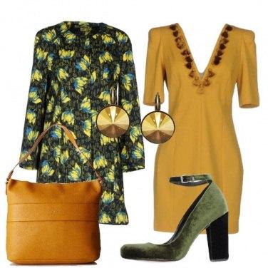Outfit Un cappotto floreale
