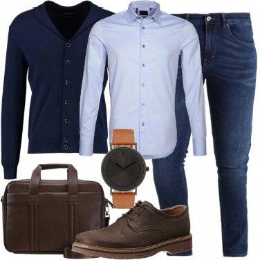 Outfit All\'università o in ufficio