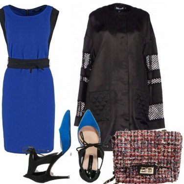 Outfit Navy e black