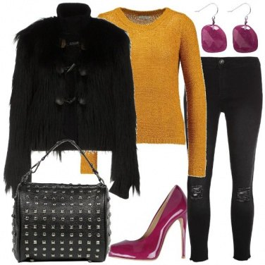 Outfit Tacco viola