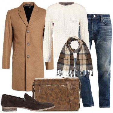 Outfit Jeans e mocassini