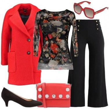 Outfit La blusa a fiori
