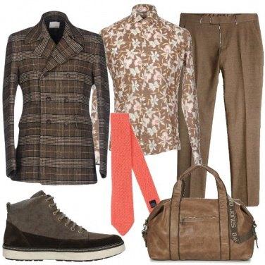 Outfit Mix e match eccentrico