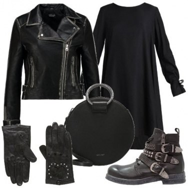 Outfit Dolce ma rock