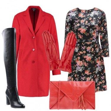 Outfit Guanti rossi