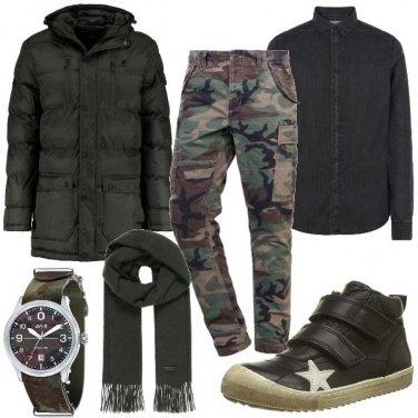 Outfit Pantaloni militari
