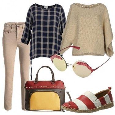 Outfit Espadrillas bicolore
