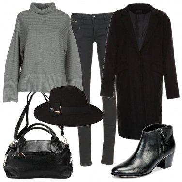 Outfit Cappotto e cappello