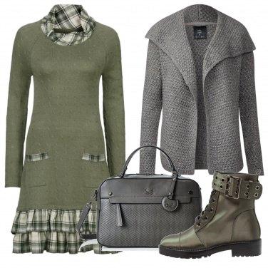 Outfit Balze a quadretti