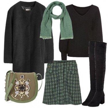 Outfit La mini pied de poule