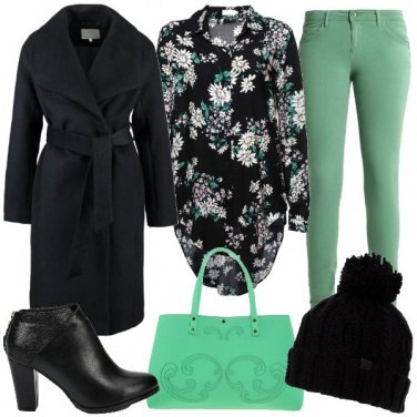 Outfit Verde chiaro