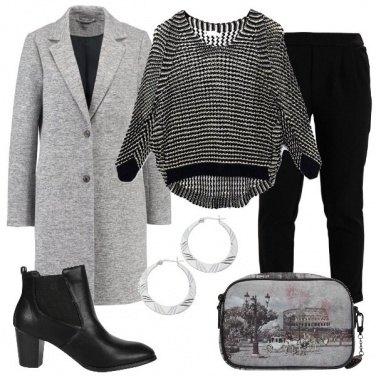 Outfit Cappotto grigio
