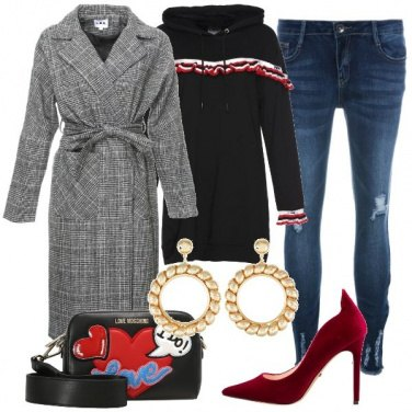 Outfit Tacchi di velluto