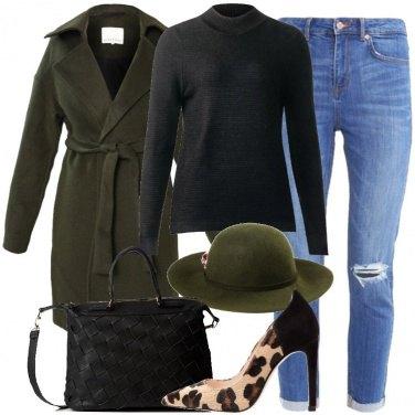 Outfit Le décolleté animalier