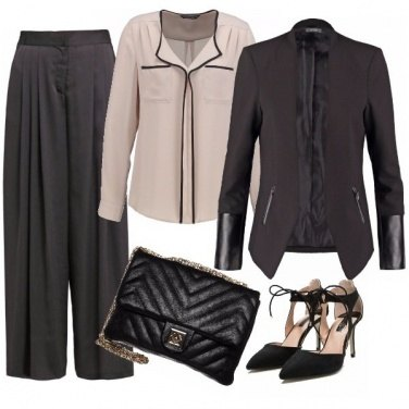 Outfit Panta palazzo