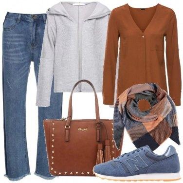 Outfit Un jeans di tendenza