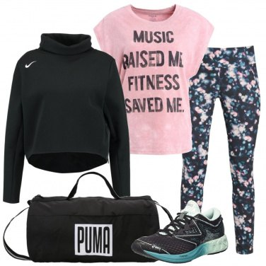 Outfit Energia per il fitness