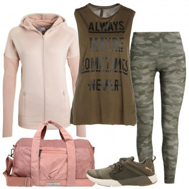 Outfit Allenamento camouflage