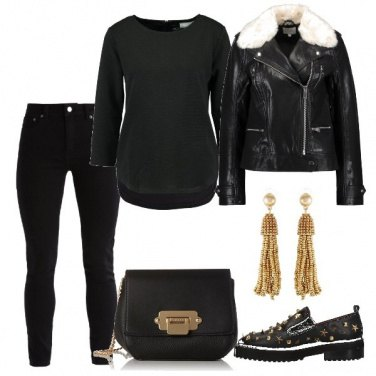 Outfit Le scarpe con le borchie