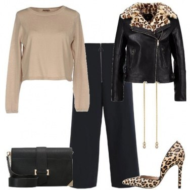 Outfit Tocco animalier
