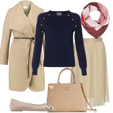 Outfit Color crema