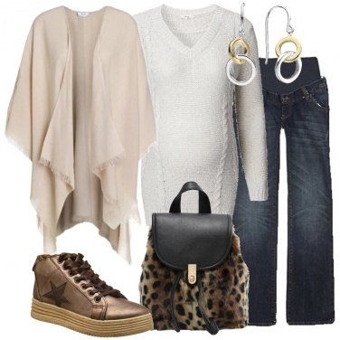 Outfit Zainetto animalier