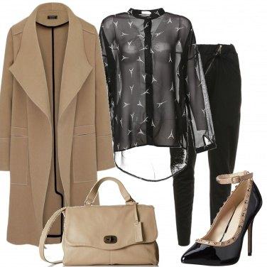 Outfit Décolleté con le borchie