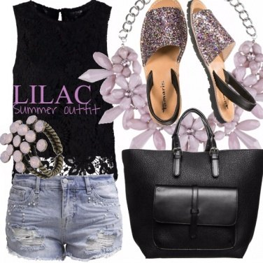Outfit LILAC SUMMER OUTFIT