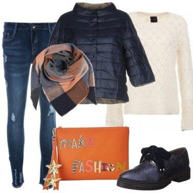 Outfit Ampio foulard