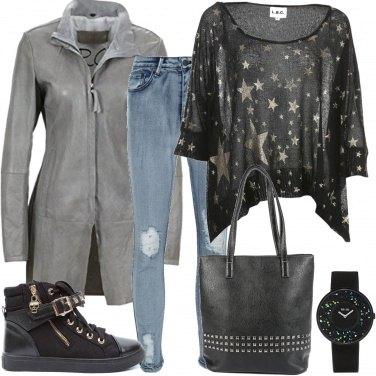 Outfit Borchie e stelle