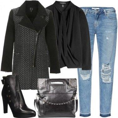Outfit Borchie sulla borsa