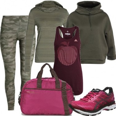 Outfit In mix and match sportivo