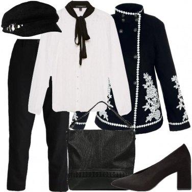 Outfit Riunione col cappello