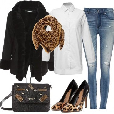Outfit Cuore animalier