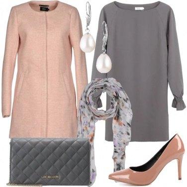 Outfit Il foulard e le perle