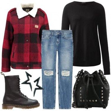 Outfit Ispirazione grunge