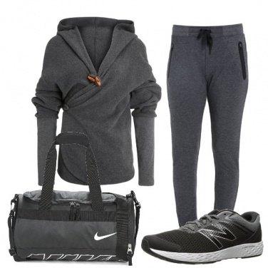 Outfit La felpa particolare