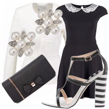 Outfit Ladylike black and white!