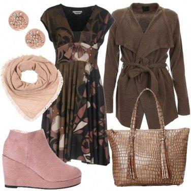 Outfit Le scarpe con la zeppa